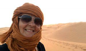 Lasciar andare le proprie paure nel deserto