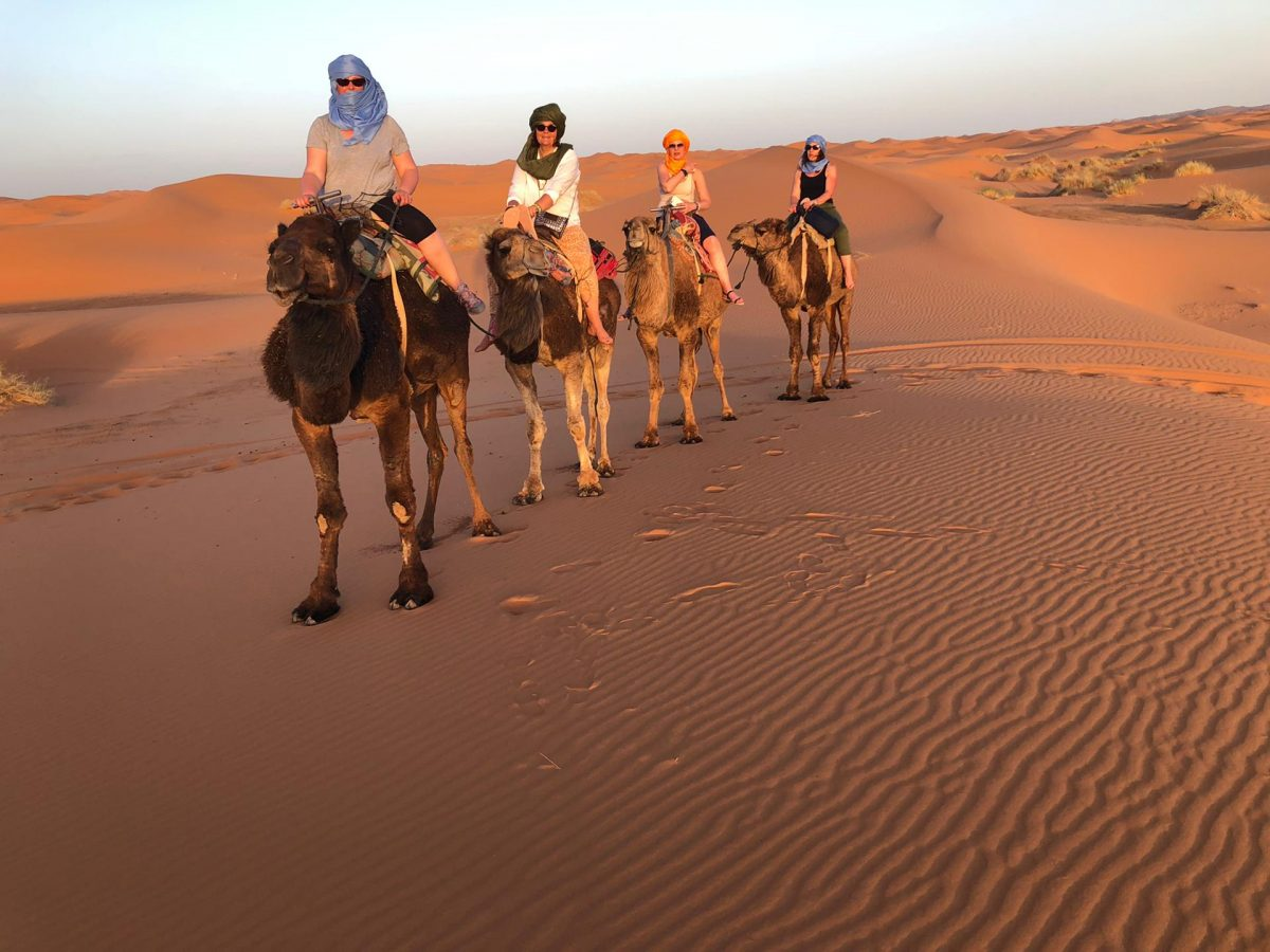 In mezzo al deserto