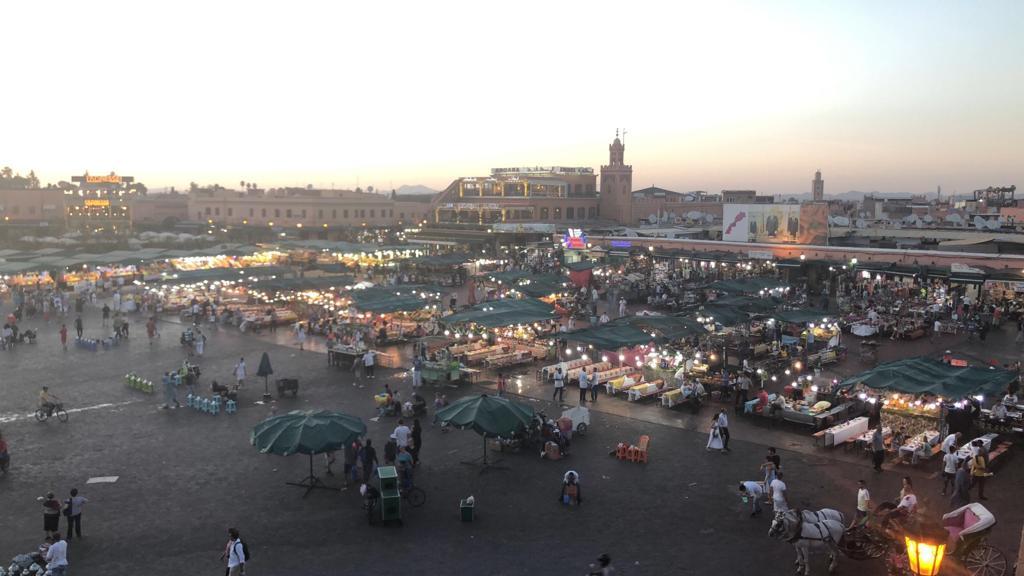 Piazza Jemaa el Fna, Marrakech